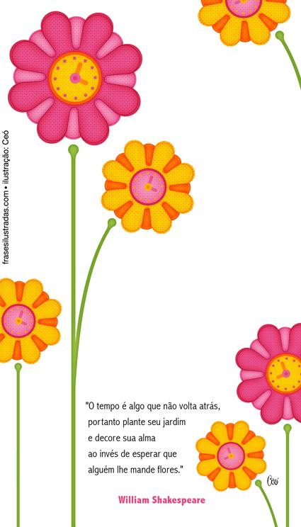 flores no jardim frases : flores no jardim frases:Cuide do seu jardim